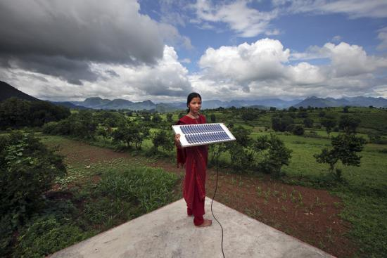 Bringing clean energy to rural India