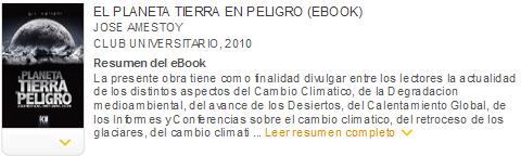 el planeta tierra en peligro ebook