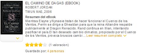 el camino de las dagas ebook
