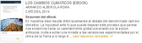 los cambios climáticos ebook