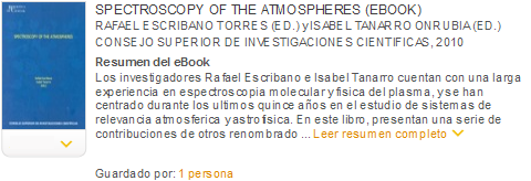 spectroscopy of the atmospheres ebook