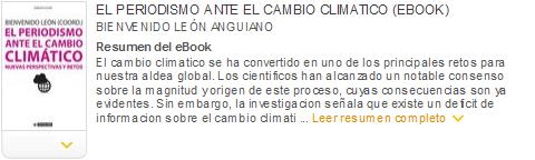 periodismo ante el cambio climatico ebook